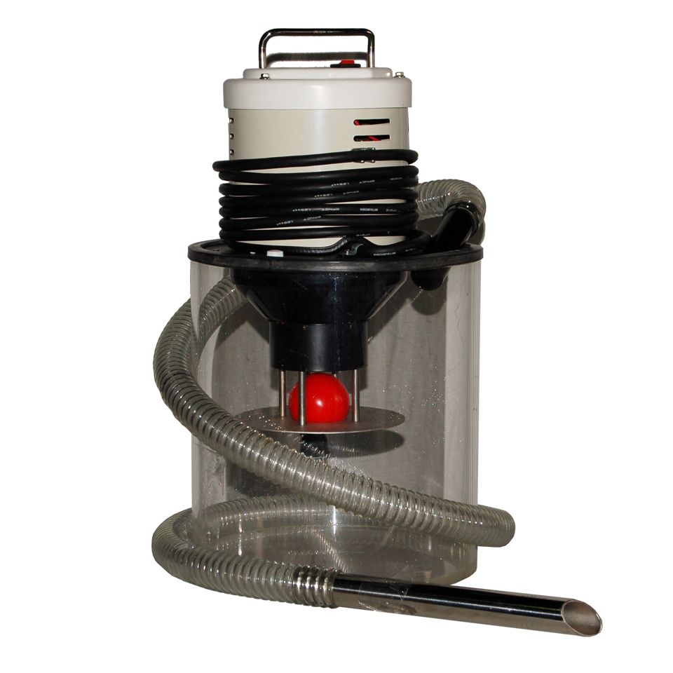 Electric vacuum cleaner for pail can : EVC-550  (REF. page 2/10 of AQUA SYSTEM CATALOG below)